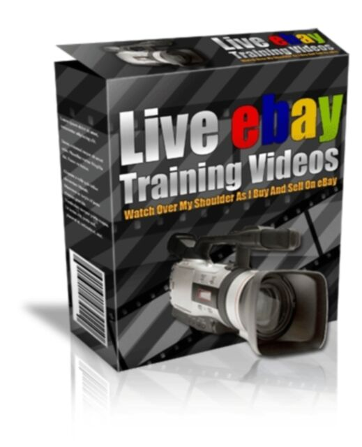 How To BUY And SELL on eBay: 28 Live Training Videos on 1 CD