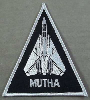 US Navy VF 103 Jolly Rogers Fighter Squadron Mutha Award Patch
