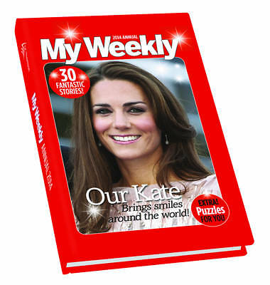 """""""AS NEW"""" , My Weekly Annual 2014 (Annuals 2014), Hardcover Book"""