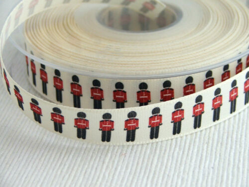 2m lengths 15mm Berisford Jubilee ribbon for sewing /& crafts