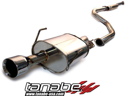 TANABE MEDALION TOURING CAT-BACK EXHAUST 96-00 HONDA CIVIC COUPE SI