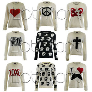 LADIES-KNITTED-LONG-SLEEVE-JUMPER-SKULL-HEART-CROSS-CELEBRITY-JUMPER-WOMENS-TOP