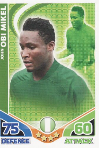 Match Attax World Cup 2010 New Zealand /& Nigeria Cards Pick From List