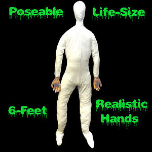 6-ft-Life-Size-Male-POSEABLE-MANNEQUIN-DISPLAY-DUMMY-Halloween-Costume-Prop-Man