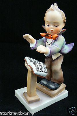 """Vintage Hummel Goebel Germany Porcelain Band Leader Music Boy Figurine 5"""" # 129"""