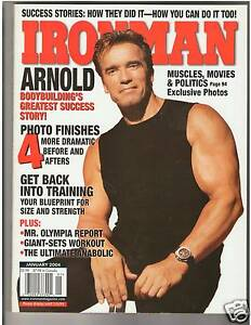 Ironman bodybuilding muscle magazine arnold schwarzenegger mr image is loading ironman bodybuilding muscle magazine arnold schwarzenegger mr olympia malvernweather Choice Image