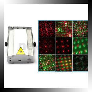 Mini-DJ-Disco-Party-Laser-Stage-Projector-Light-Lighting-8-Image-Strobe-Light