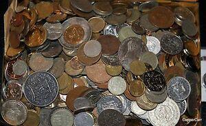 1-Pound-Old-Foreign-and-US-Coins-Private-Estate-Collection-Some-Silver-Ship-Free