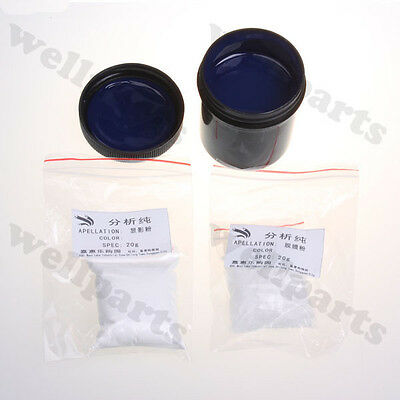 Photoresist Anti-etching Blue Paint+Resist Remover + Developer For DIY PCB Kit