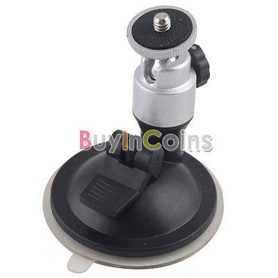 Car Auto Digital Camera Dashboard Suction Cup Mount Tripod Holder Black Decor