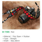 Apple Digital Dslr Camera Checkered Shoulder Neck Strap M7585