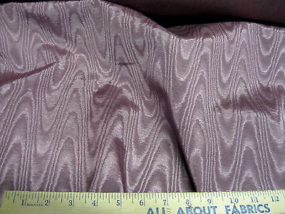 Discount Fabric Moire Bengaline Faille Mauve 52 inches wide MR129