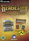 Heroes Of Might And Magic III + Heroes Of Might And Magic IV Complete (PC, 2007, DVD-Box)