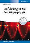 Einfuhrung in die Festkorperphysik by Philip Hofmann (Paperback, 2013)