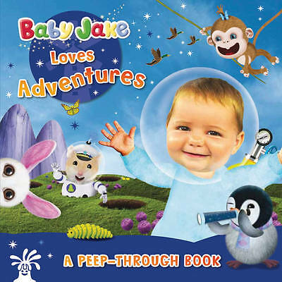 Baby Jake Loves Adventures a Peep-through Book-ExLibrary