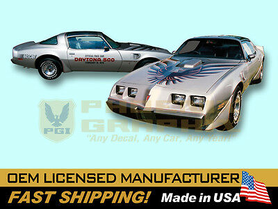 1979 Pontiac Firebird Trans Am 10th Anniversary Edition Decals & Stripes Kit