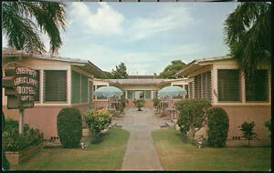 ST-PETERSBURG-FL-Great-Lake-Motel-Apartments-Vintage-Florida-Postcard-Early-Old