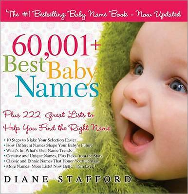 (Good)-60,001+ Best Baby Names: Plus 222 Great Lists to Help You Find the Right