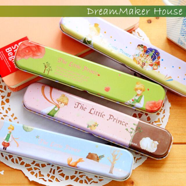 :D=Little Le Pet Prince=Pencil Pen Case=Cute Tin Box=Metal Container=Iron Holder