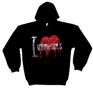 I-LOVE-VAMPIRES-RHINESTUD-HOODY-HOODIES-gothic-horror-all-sizes