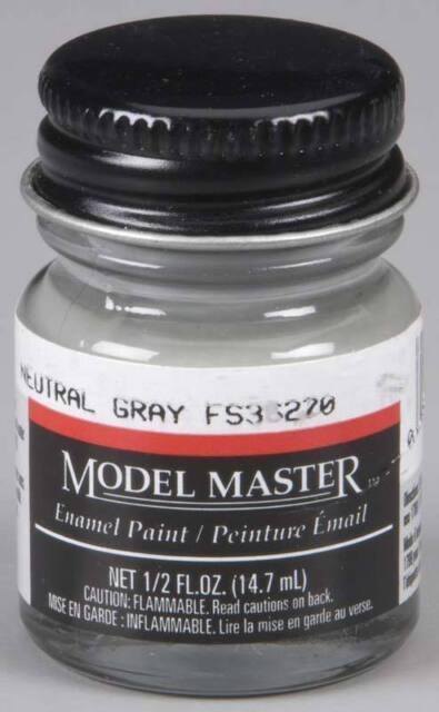 Testors Model Master 1725 Neutral Gray 36270 1/2 oz model paint new