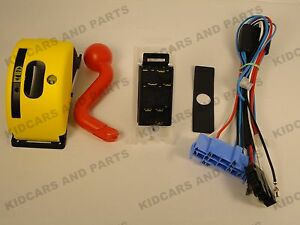 peg perego john deere gator hlr 6 pin shifter and wiring harness image is loading peg perego john deere gator hlr 6 pin