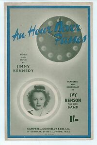 An-Hour-Never-Passes-Words-and-Music-by-Jimmy-Kennedy-Sheet-Music