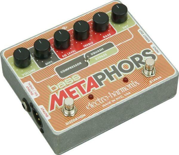 electro harmonix bass metaphors multi effects guitar effect pedal for sale online ebay. Black Bedroom Furniture Sets. Home Design Ideas