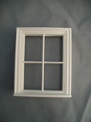Half Scale 1:24  Victorian 4 Pane  Window  Jackson's Miniatures Dollhouse #L9