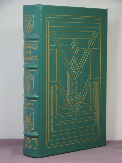 1st,signed by 2(authr,int),Tomorrow & Tomorrow by Charles Sheffield,Easton Press