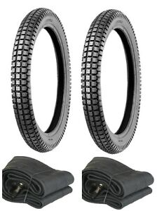Honda-CT110-CT90-TRAIL-110-90-2-75-X-17-TIRES-and-TUBES