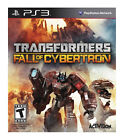 Transformers: Fall of Cybertron (Sony PlayStation 3, 2012)