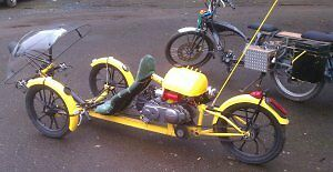 BUMBLE-BEE-RECUMBENT-TADPOLE-49CC-MOTOR-ASSISTED-BICYCLE-HUMAN-HYBRID-TRIKE