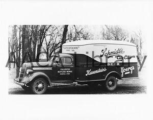 1937-Studebaker-J15-Van-Truck-Schmidt-039-s-Beer-Factory-Photo-Ref-77958