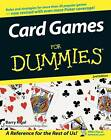 Card Games For Dummies by Barry Rigal (Paperback, 2005)