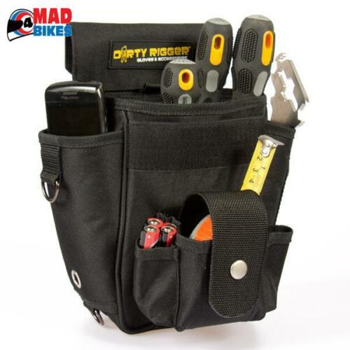 DIRTY RIGGER TECHNICIANS TOOL POUCH, SOUND, LIGHT, VISUAL, RIGGING,  THEATER