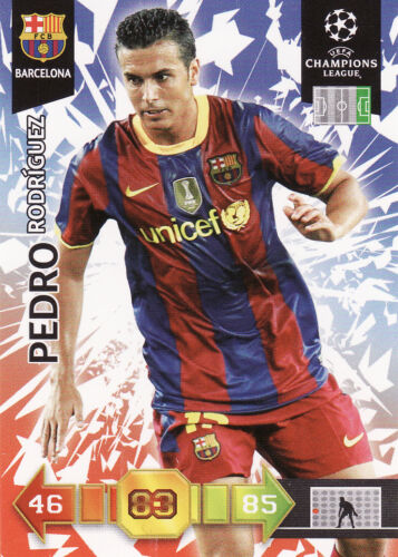 Adrenalyn XL Champions League 10//11 Arsenal Barcelona Cards Pick From List
