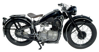 Vintage BMW R35 Motorcycle Biker T-Shirt. Gents, Ladies & Kids Sizes