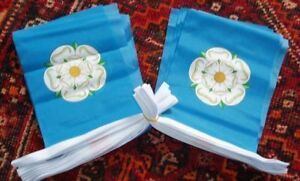White-Rose-England-English-Yorkshire-Yorkist-Bunting-9m-Leeds-Bradford-History