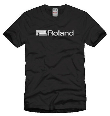 Roland Synthesizer Logo T Shirt Vintage Music Synth T-Shirt