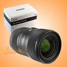 Sigma 18-35mm F1.8 DC HSM Lens for Canon - Black
