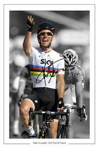 MARK-CAVENDISH-2012-TOUR-DE-FRANCE-SIGNED-AUTOGRAPH-PHOTO-PRINT