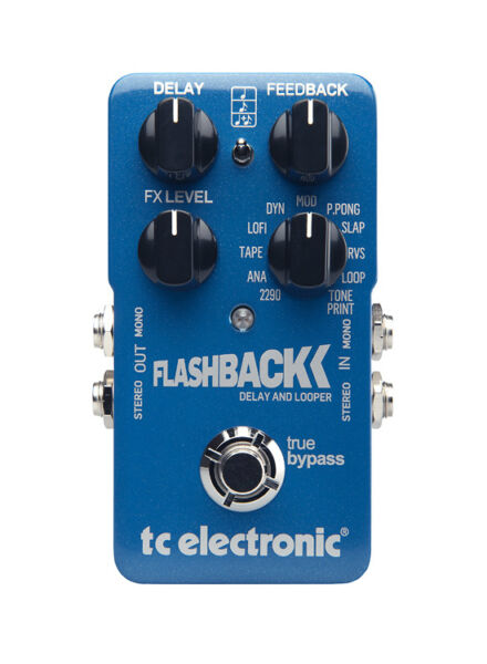 tc electronic flashback delay guitar effect pedal for sale online ebay. Black Bedroom Furniture Sets. Home Design Ideas