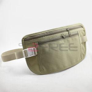 New-Travel-Pouch-Hidden-Compact-Security-Money-Passport-ID-Bag-Holder-Waist-Belt