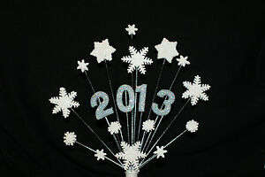SNOWFLAKE-Christmas-Wedding-Anniversary-Birthday-or-NEW-YEAR-Cake-Topper