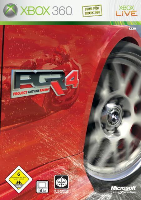 Project Gotham Racing 4 -- Classics (Microsoft Xbox 360, 2007, DVD-Box)