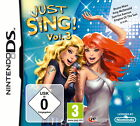 Just Sing Vol. 3 (Nintendo DS, 2011)