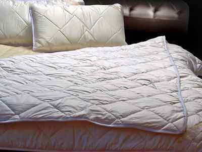 100% Merino Wool DUVET Quilt Super King DUVET 220 x 260 cm + TWO PILLOWS 45/75cm