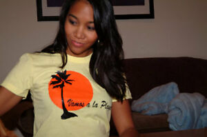 Vamos a La Playa (girl's t-shirt - American Apparel)