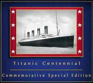 Arvel-Bird-RMS-Titanic-Centennial-Special-Edition-Music-Souvenir-CD-Belfast-New